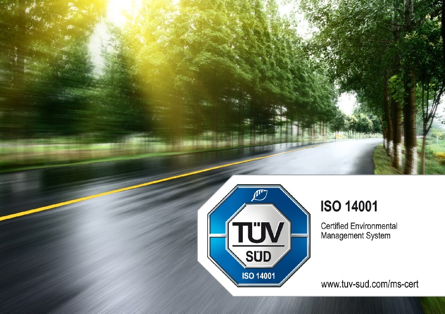 Webfleet Solutions achieves ISO 14001:2015 certification in its drive for continual environmental improvement