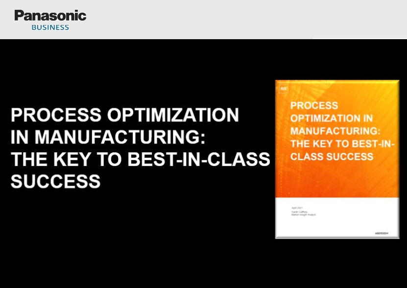 Process Optimisation Is The Key To Best-In-Class Manufacturing Success, New Study Shows