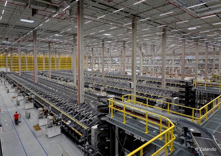 Körber future-proofs supply chain for Zalando Lounge in Polish logistics center