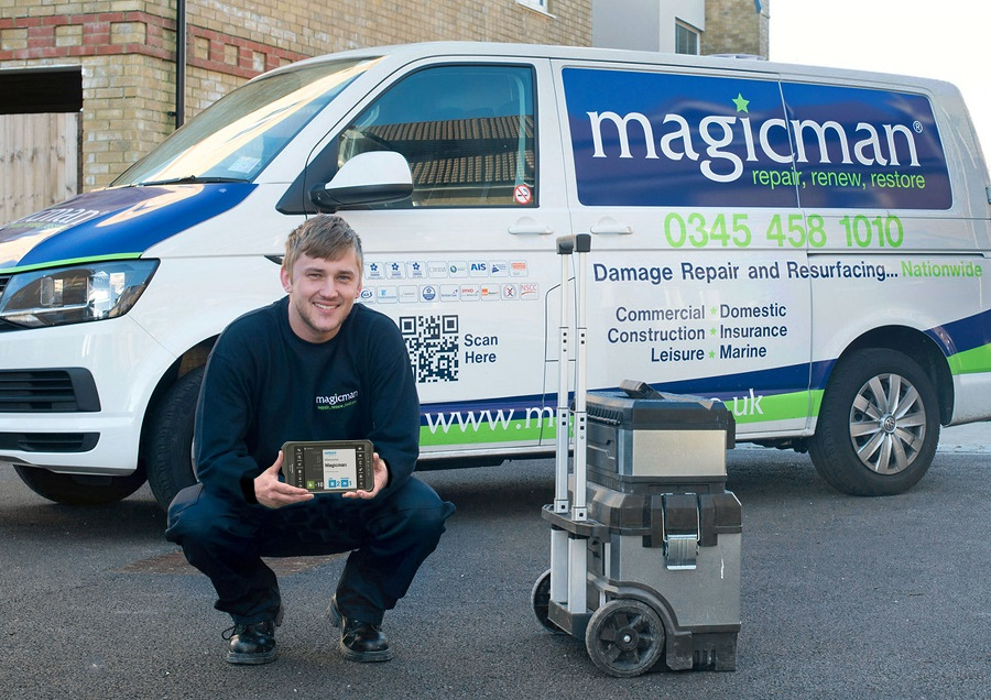 Magicman Takes a Shine to Paperless Working with BigChange