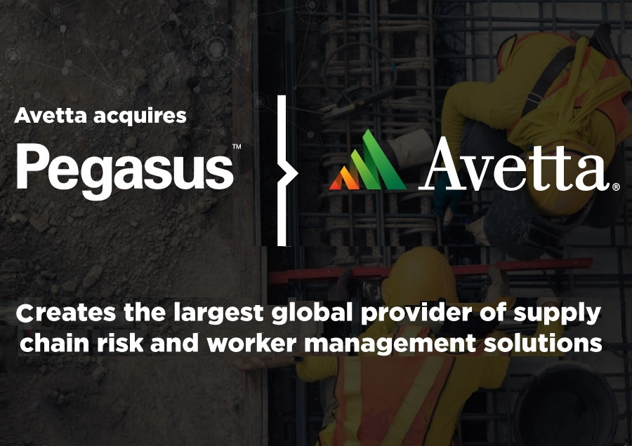 Avetta Acquisition of Pegasus Completed After Receiving Regulatory Approval