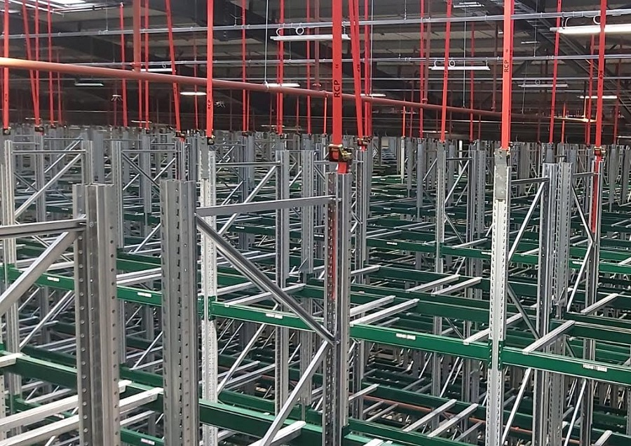 Croda International Installs Industry Leading Racking Safety System at new Customer Excellence Centre