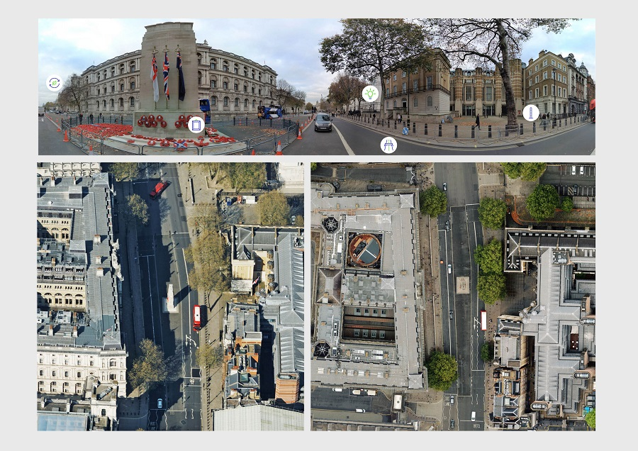 Bluesky Cyclomedia Partnership Combines Aerial & Mobile Mapped Data for Virtual City Models