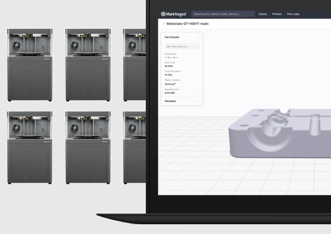 Markforged Releases EigerTM Fleet to Scale Additive Manufacturing