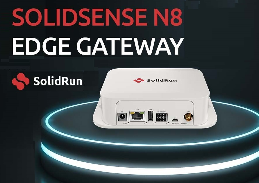 SolidRun Releases SolidSense N8 IoT Compact Edge Gateway with Wirepas Massive Support