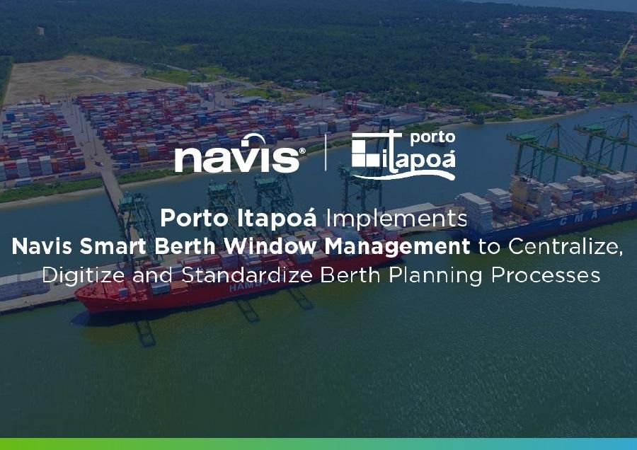 Porto Itapoá Implements Navis Smart Berth Window Management to improve Berth Planning Processes
